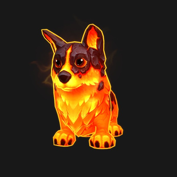 Corgi du magma - preview